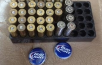 Ammo & Bud Light
