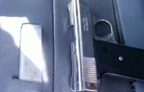 Hidden Pistol